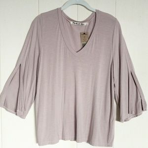 Michael Stars Slit Sleeve Top - NWT